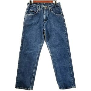 Wrangler Relaxed Fit Jeans 30x30 Mid Rise Blue